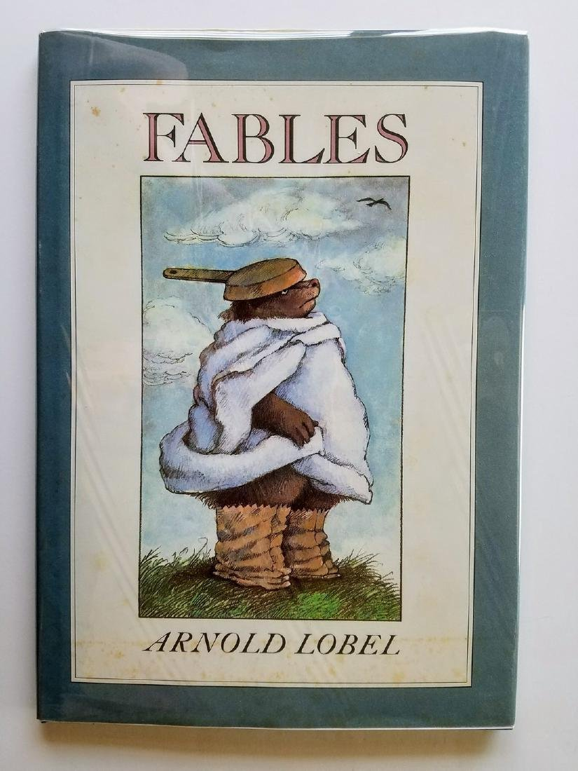 Caldecott Winner, Fables, First edition.