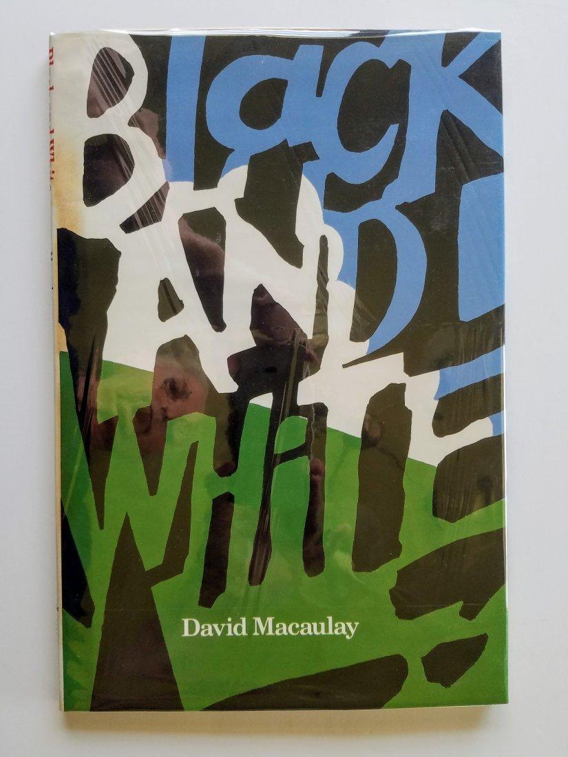 Caldecott Winner, Black and White, Signed first edition