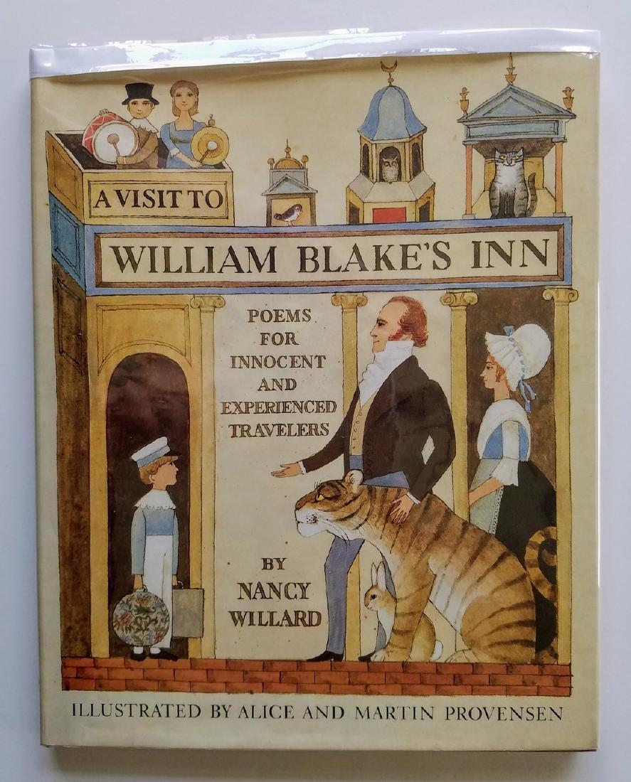 Newbery Award Caldecott William Blake Inn Signed 1st ed