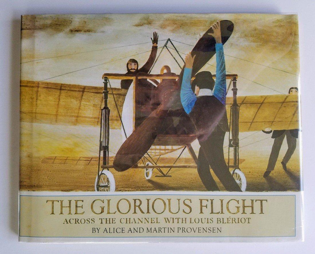 Caldecott Winner, The Glorious Flight, first edition.