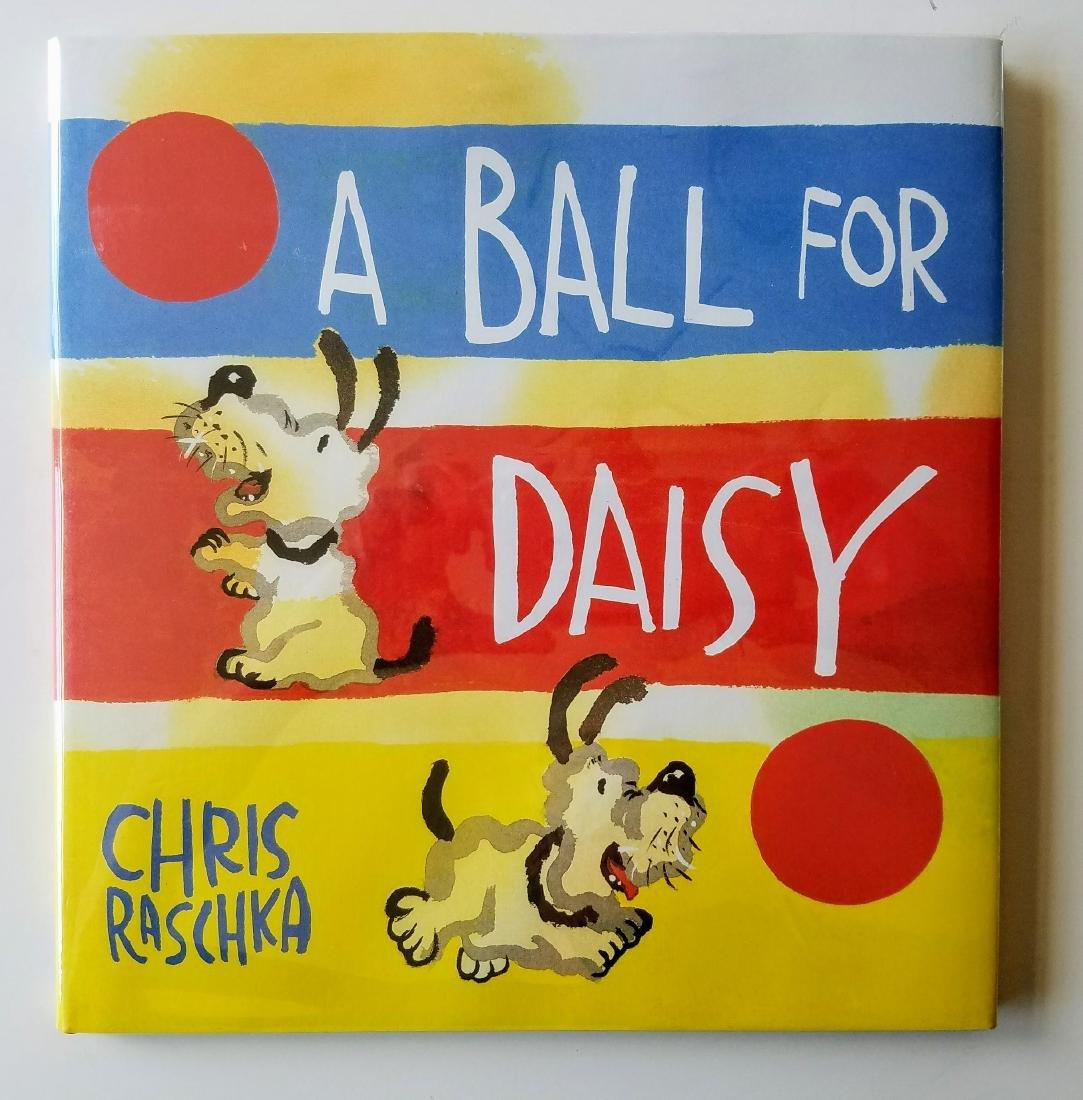 Caldecott Winner, A Ball for Daisy Signed first edition