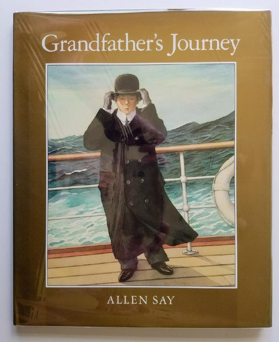Caldecott Winner Gfather Signed & drawing first edition