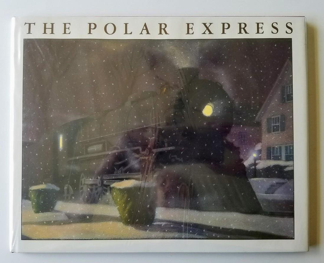 Caldecott Winner The Polar Express Signed first edition