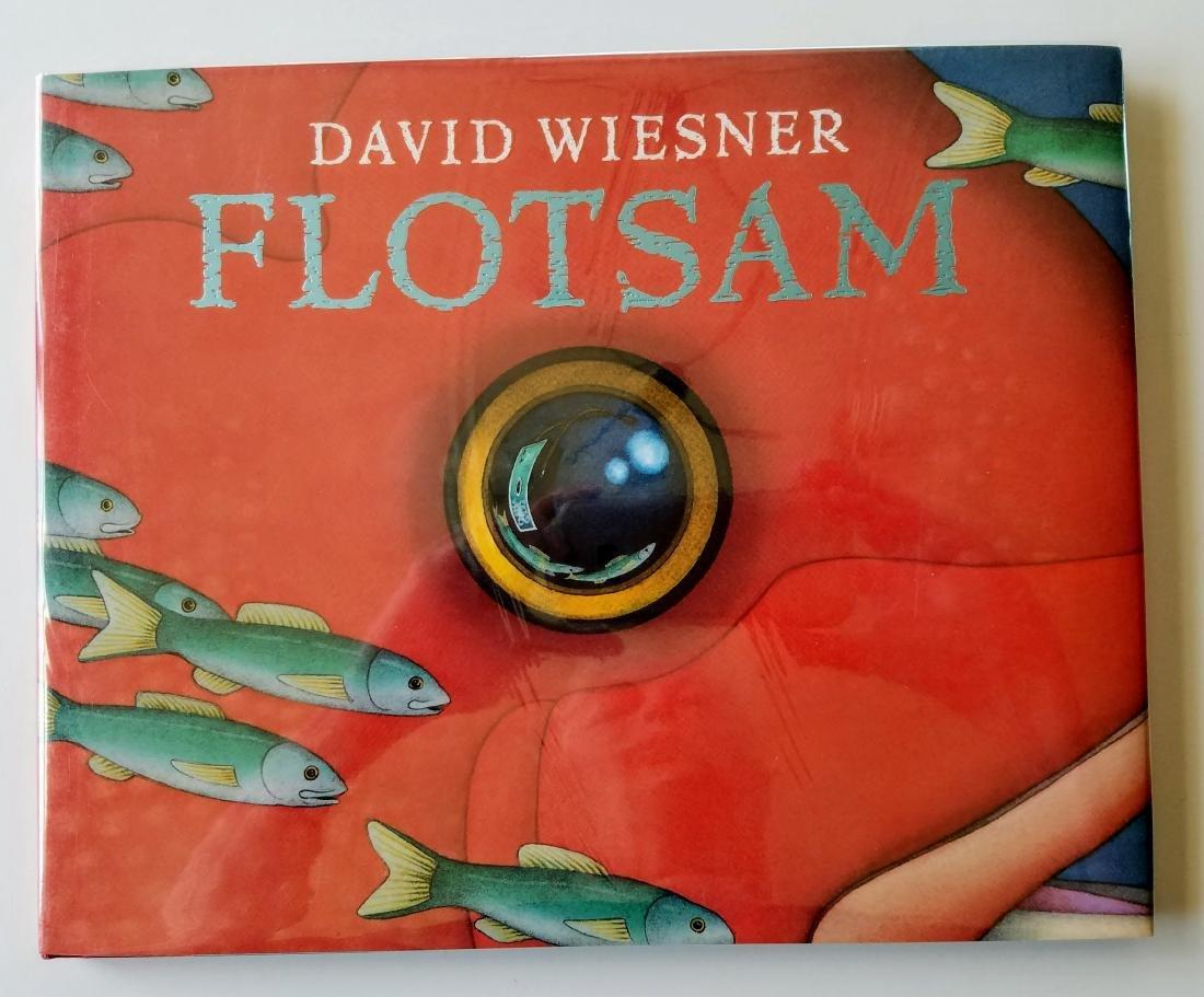 Caldecott Winner, Flotsam, Signed first edition.