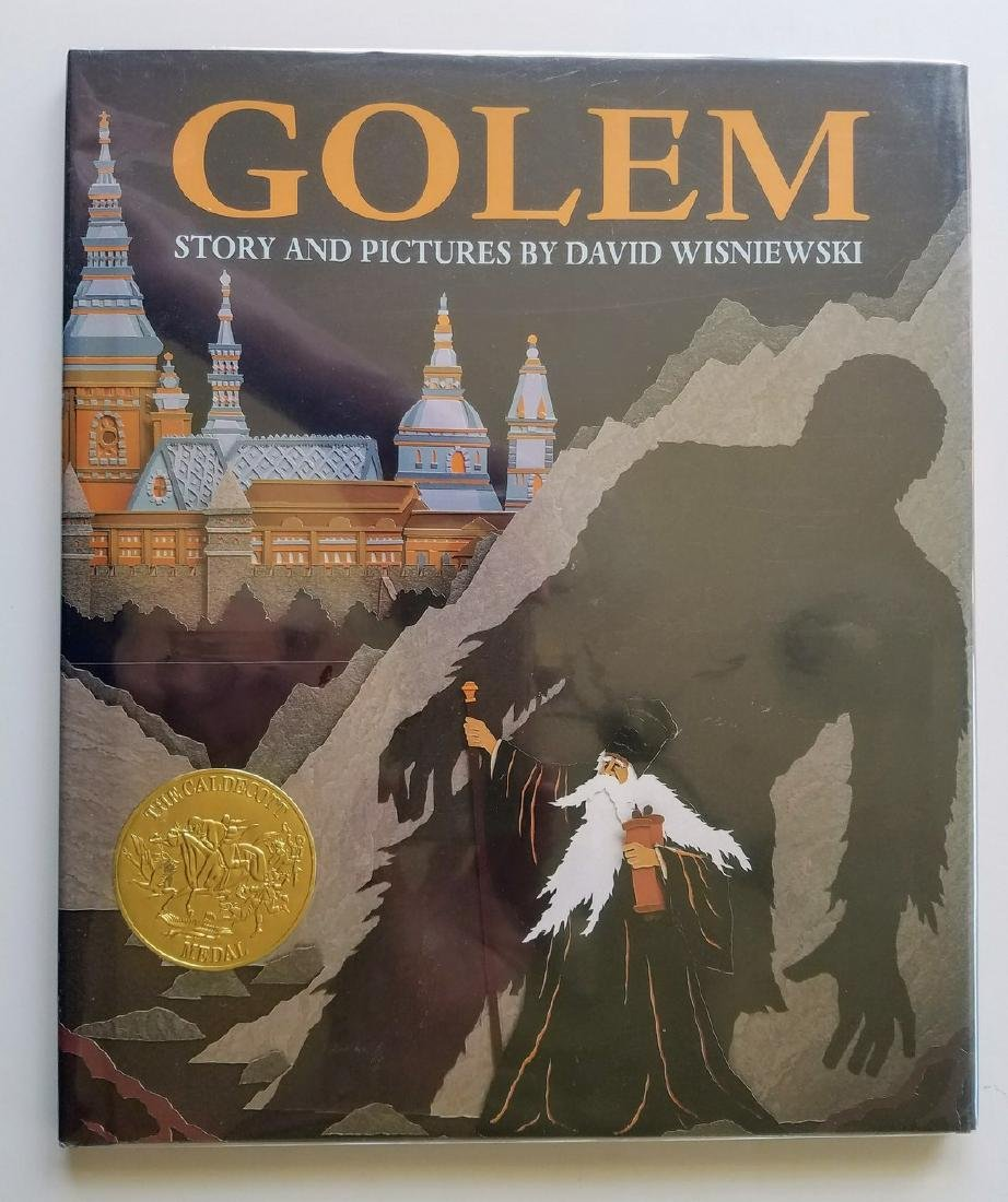 Caldecott Winner, Golem, Signed first edition.
