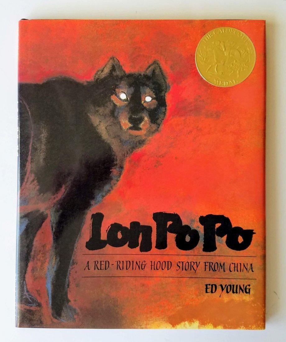 Caldecott Winner, Lon Po Po, Signed first edition.