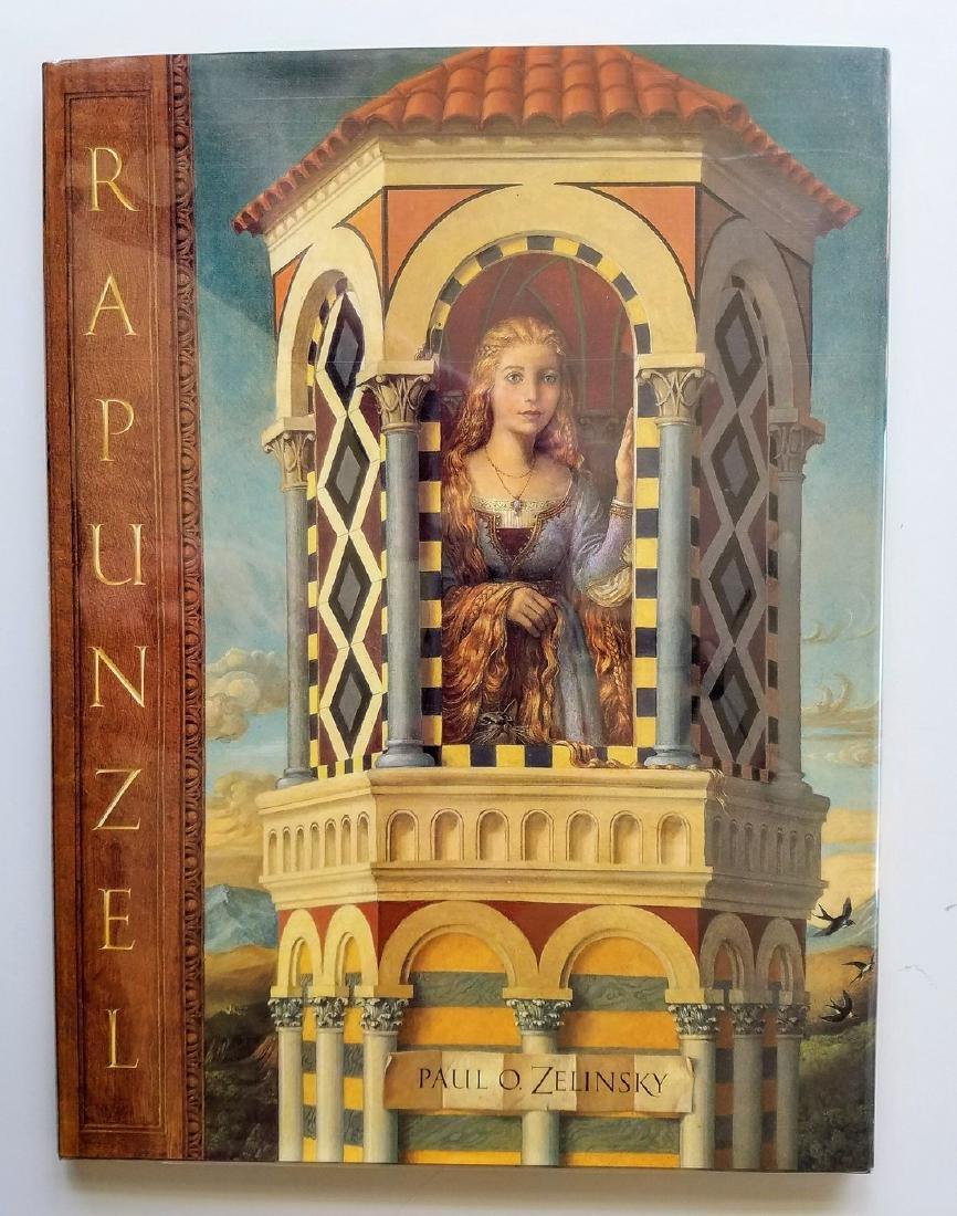 Caldecott Winner, Rapunzel, first edition.