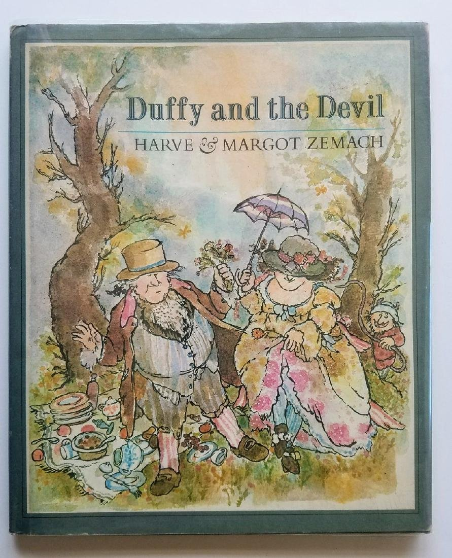 Caldecott Winner, Duffy and the Devil, first edition.