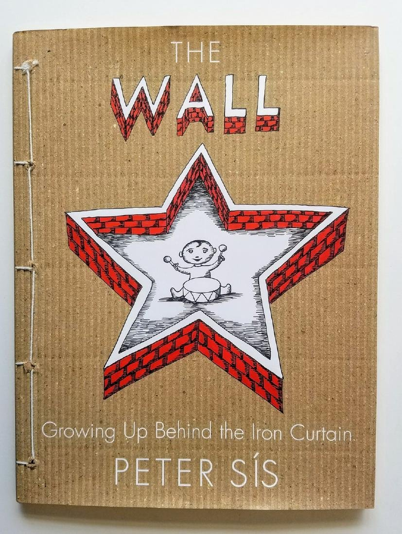 Caldecott Honor, The Wall, signed with drawing.