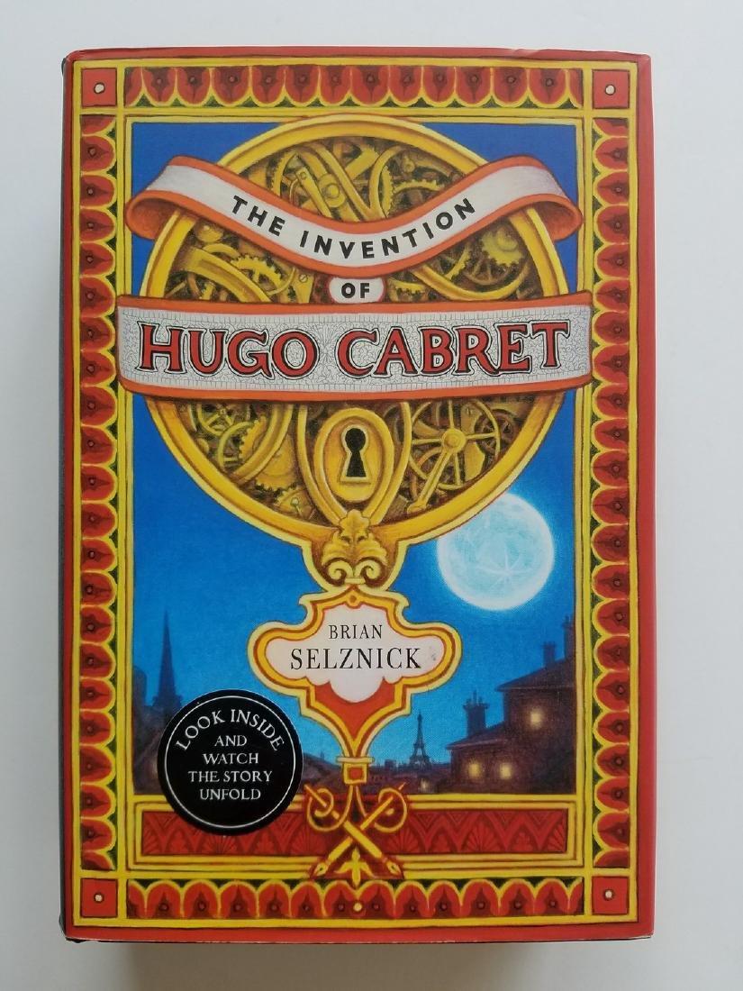 Caldecott Winner, The Invention of Hugo Cabret.