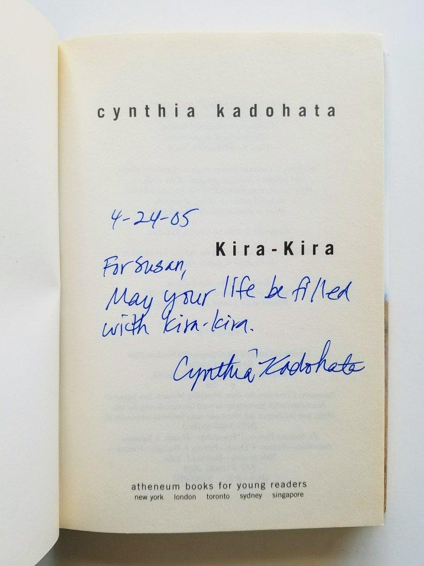 Newbery Award, Kira-Kira, Signed.