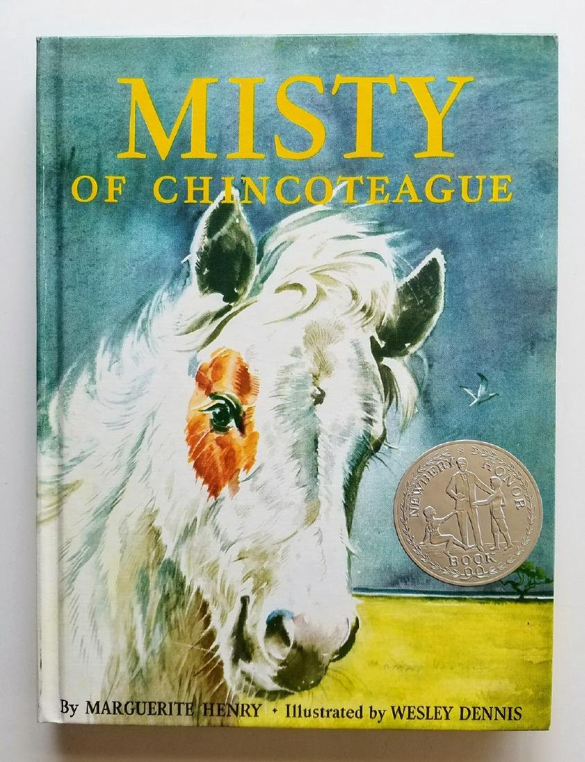 SIGNED Newbery Honor, Misty of Chincoteague.