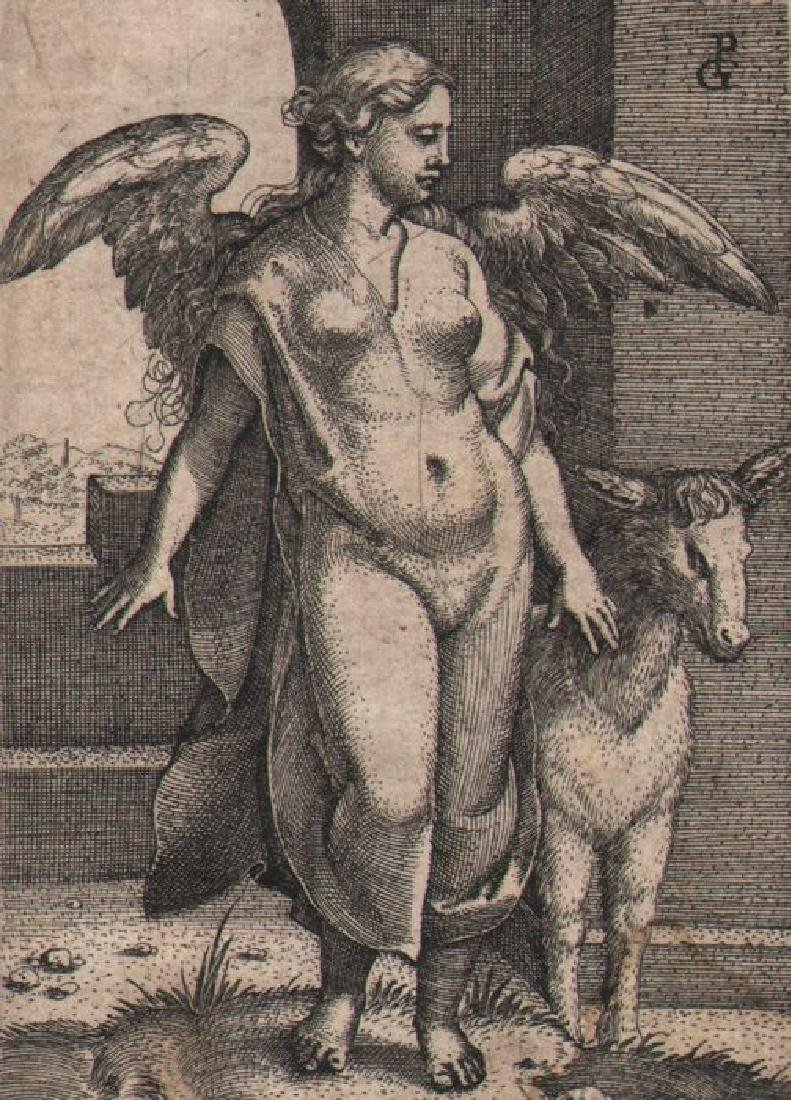 Georg Pencz (ca 1500-1550) Engraving