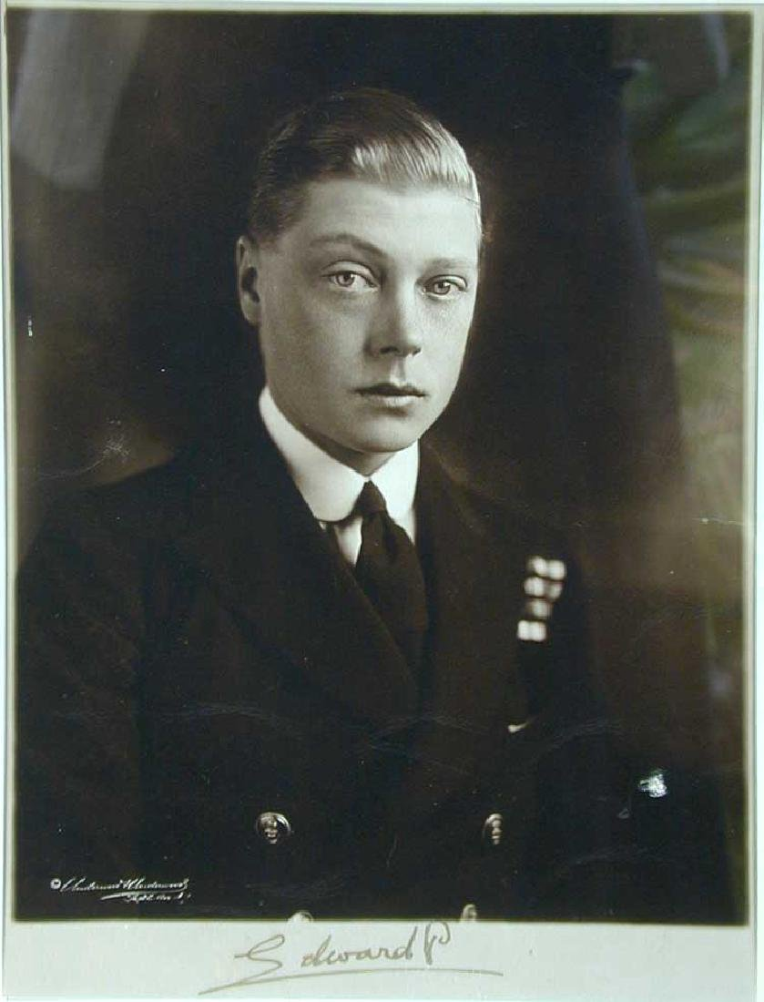 Edward, Prince of Wales, Signed Portrait Photograph