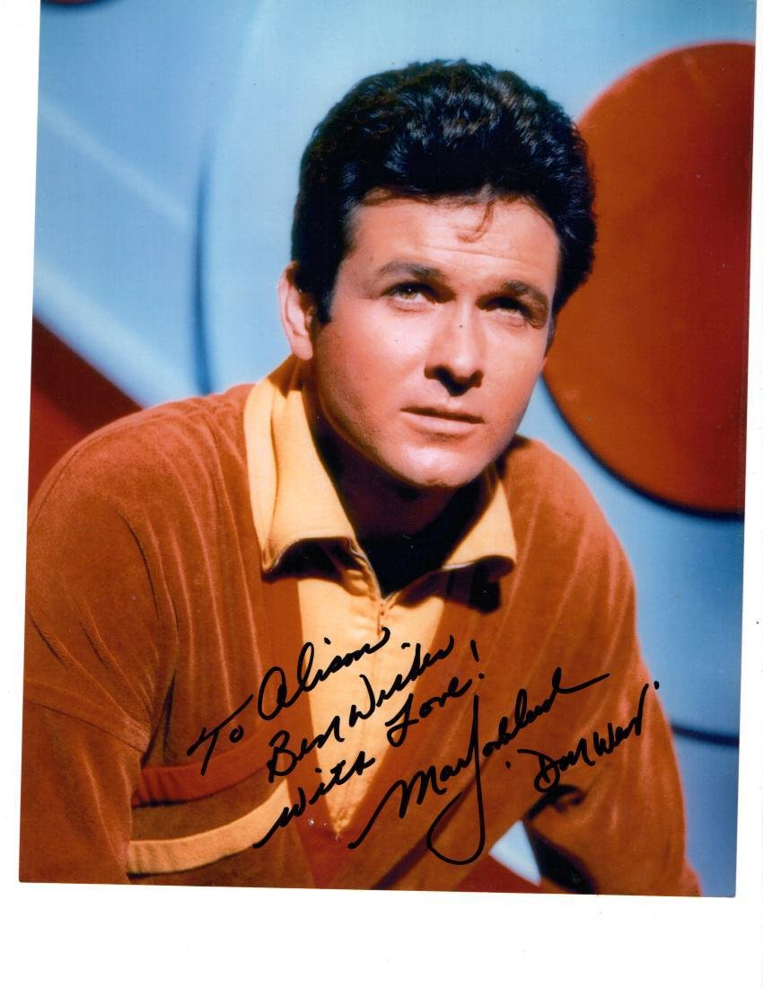 Mark Goddard Autographed Photo