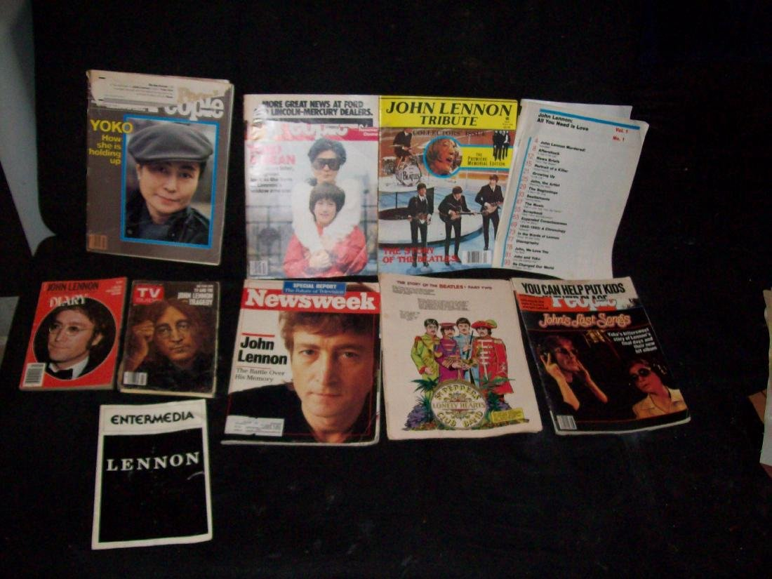 John Lennon Collection of Clippings