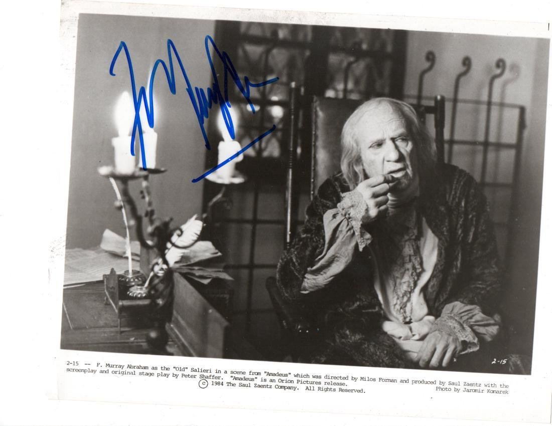 F. Murray Abraham Autographed Photo