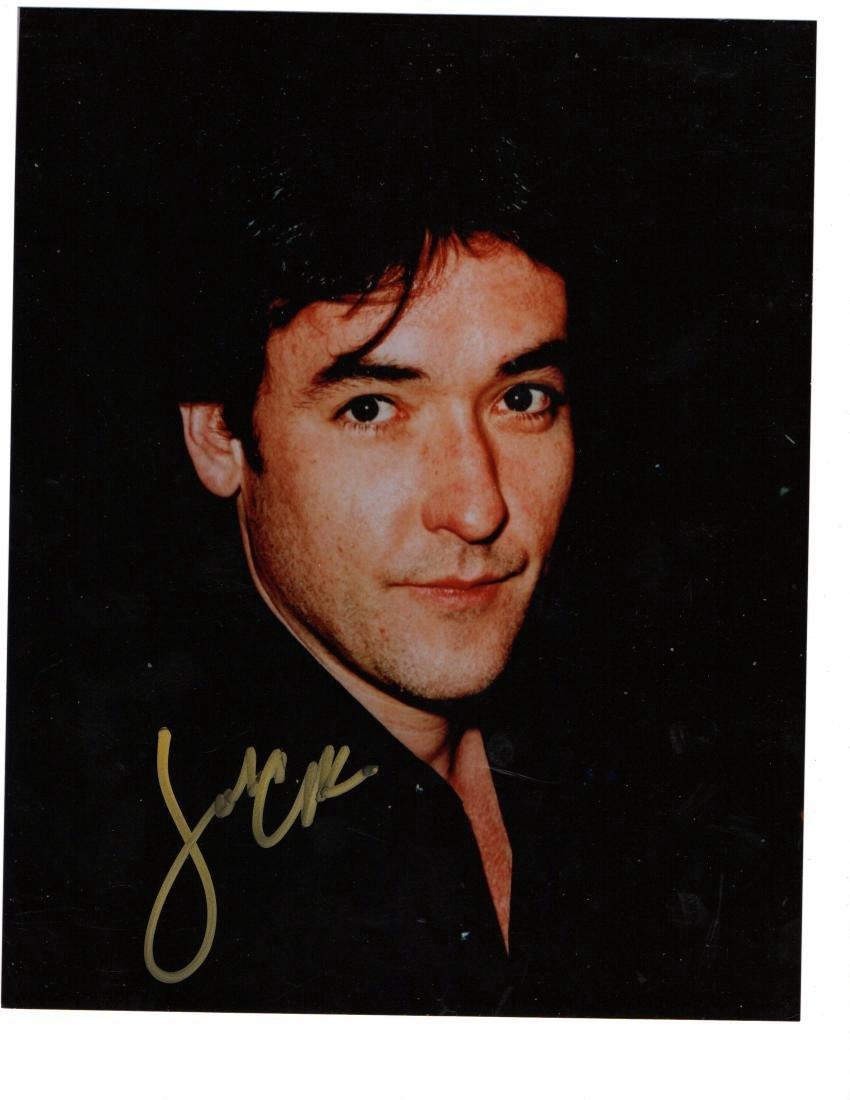 John Cusack Autographed Photo