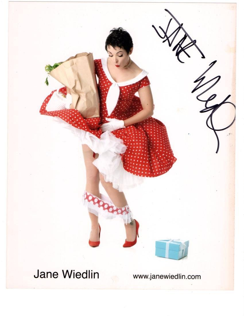 Jane Weidlin Autographed Photo from the Go-Go's