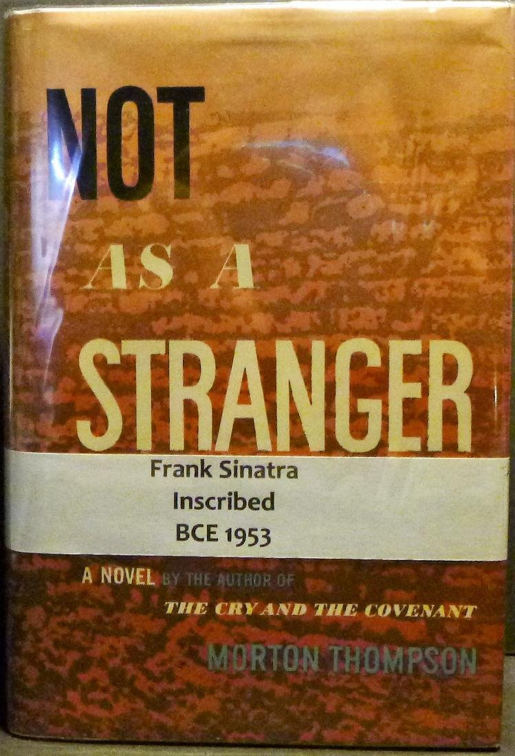 Not as a Stranger- Inscribed by Frank Sinatra