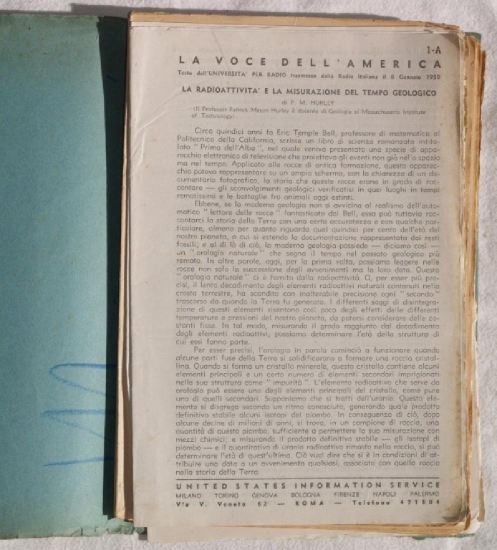 Filo American Radio US Ten Pamphlets 1949 1950