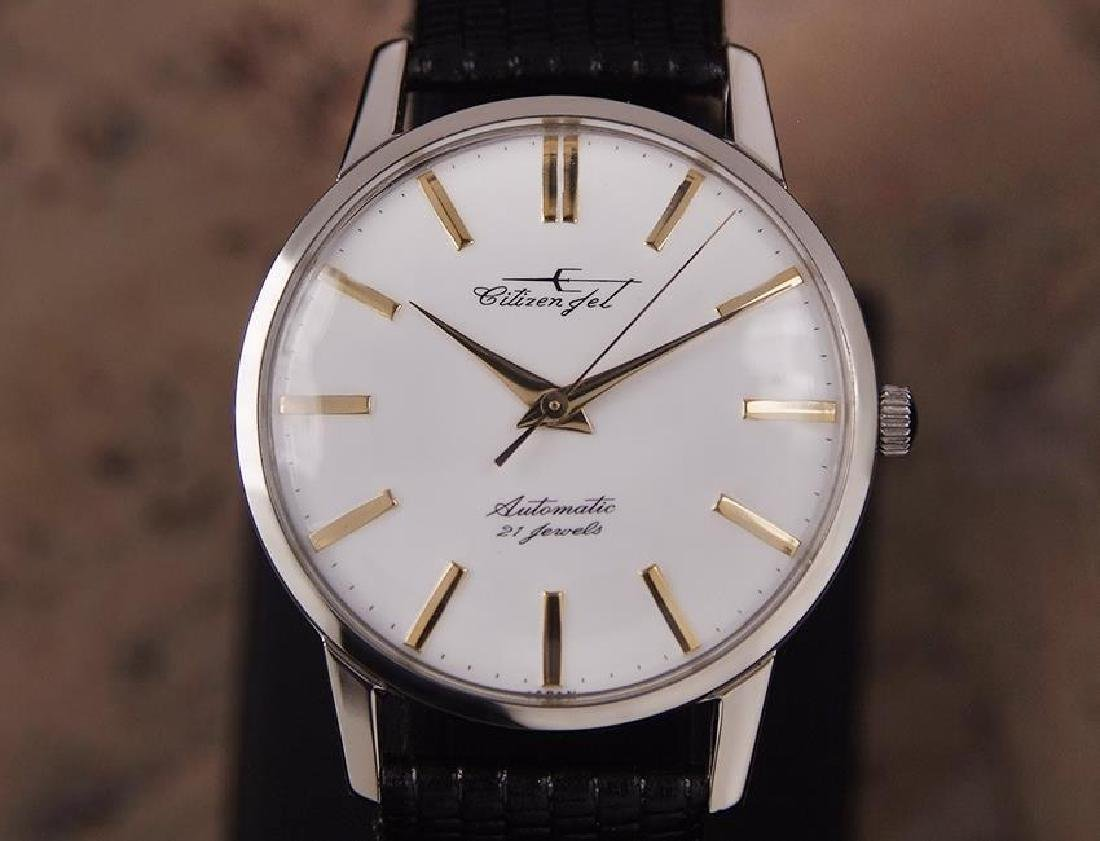 Citizen Jet Automatic 1960s Men's Stainless Steel Watch