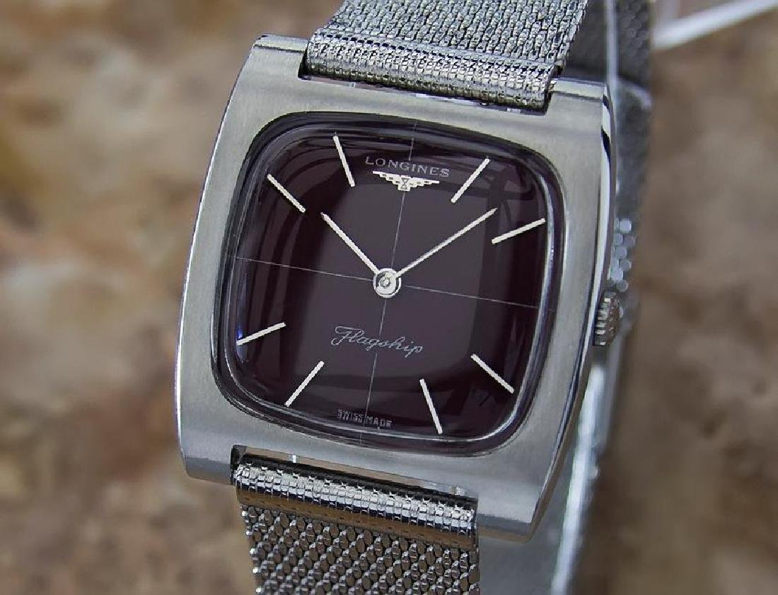 Longines Flagship 1970 Stainless Steel Men Manual Watch