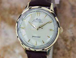 Mido Multifort 1960 Superautomatic Gold Capped Watch