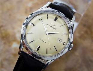 Movado Kingmatic Subsea Automatic Mens 1960s Watch