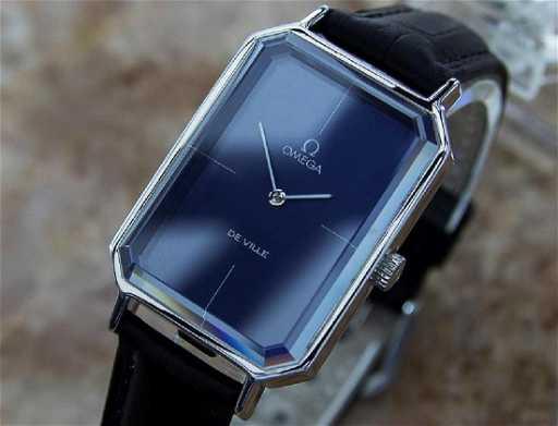 fbd7aa234c85 Vintage Omega DeVille Andrew Grima Men s 1960s Watch