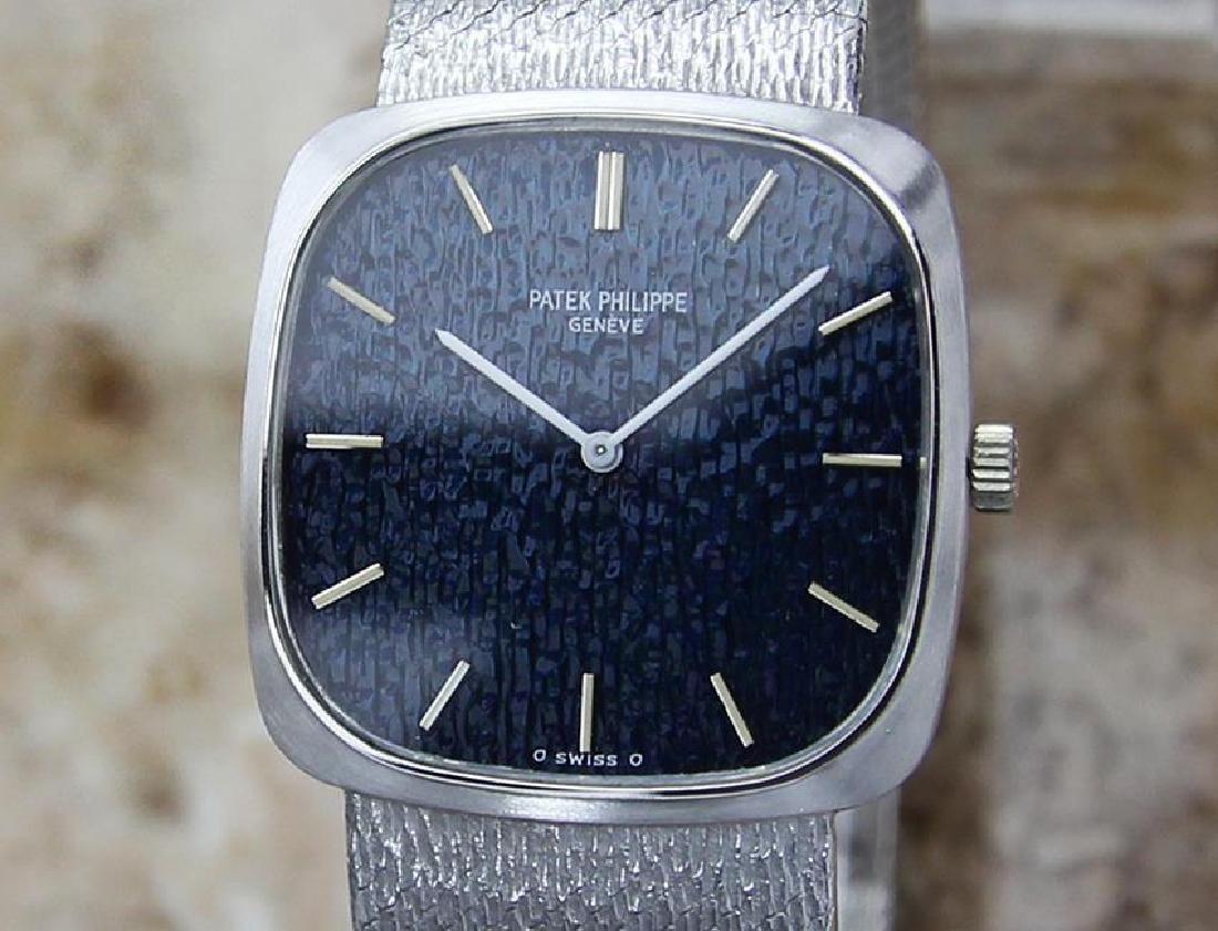 Patek Philippe 18k White Gold 1970 Unisex Watch