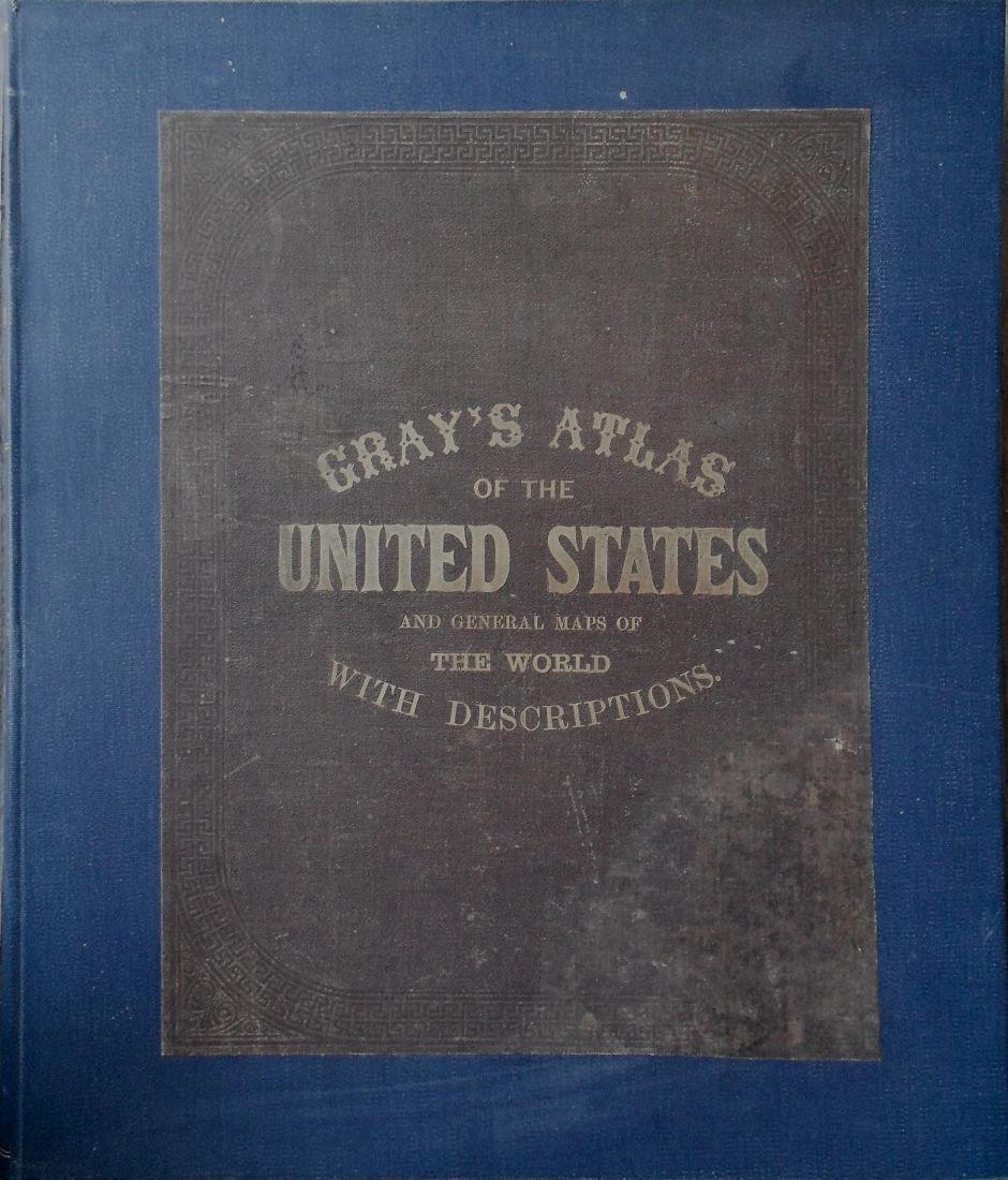 Gray's Atlas of the United States, with General Maps