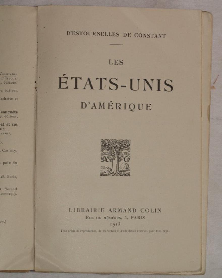 LES ETATS-UNIS D'AMERIQUE Study US 1913