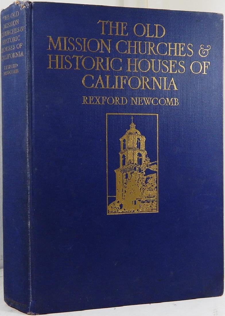 Old Mission Churches and Historic Houses of California