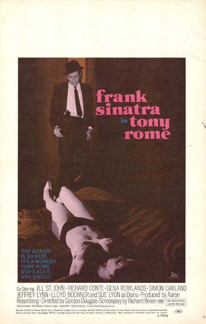 3 Assorted Frank Sinatra Movie Posters