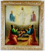 Antique Russian icon of the Transfiguration of Christ