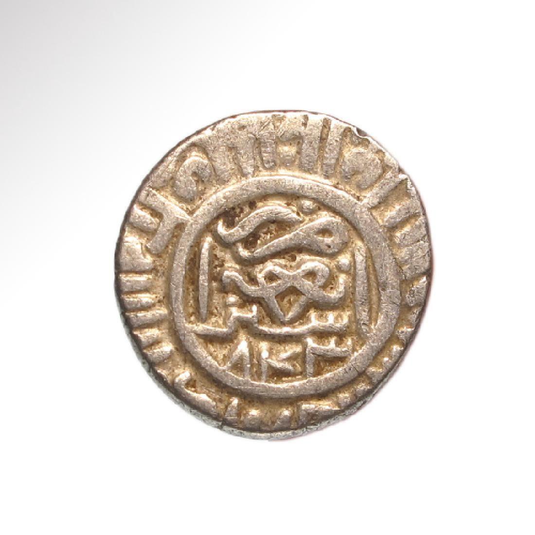 Timurid Silver Tanka, Struck 843,Shahruk Mirza
