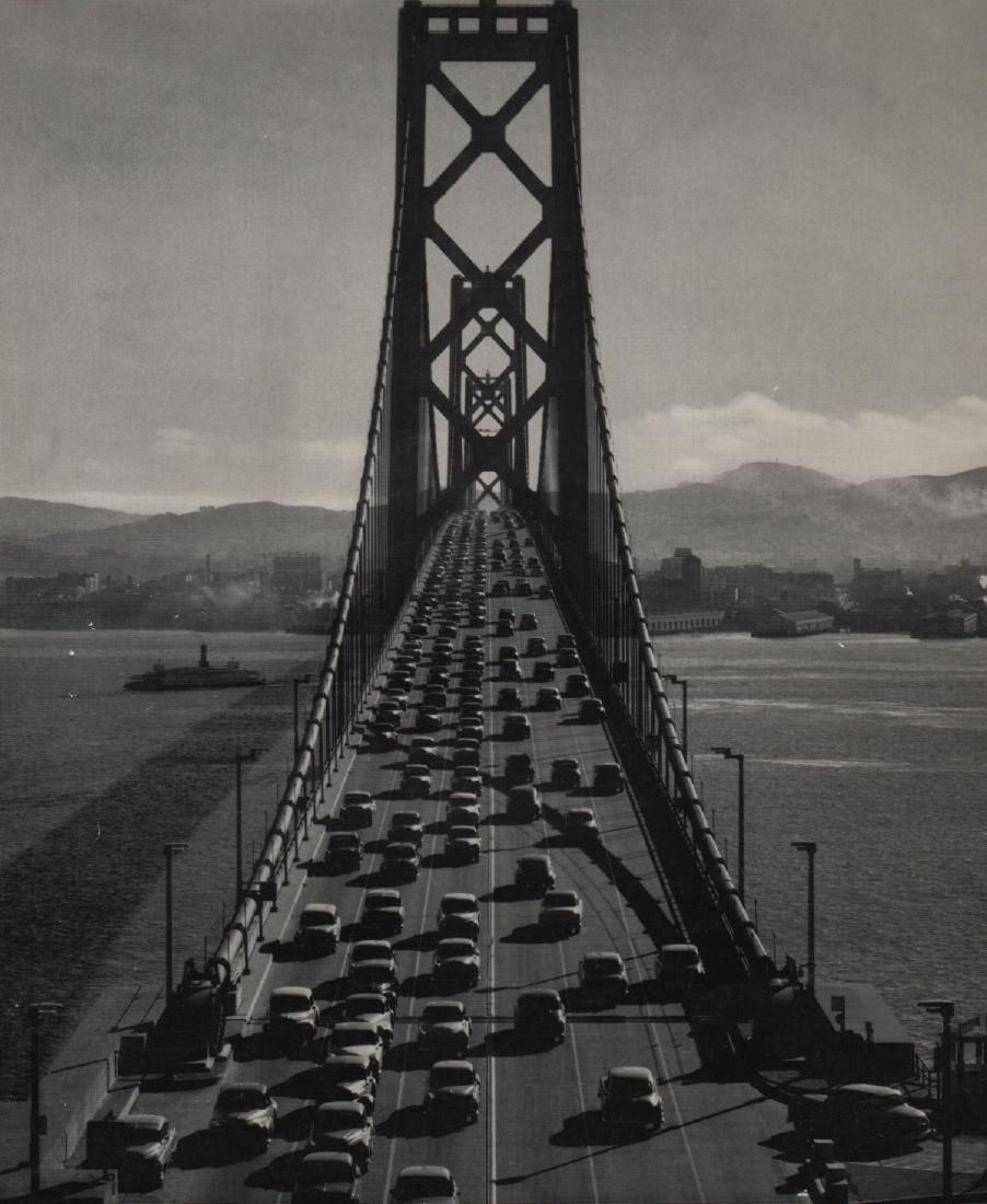 ANSEL ADAMS - San Francisco-Oakland Bay Bridge