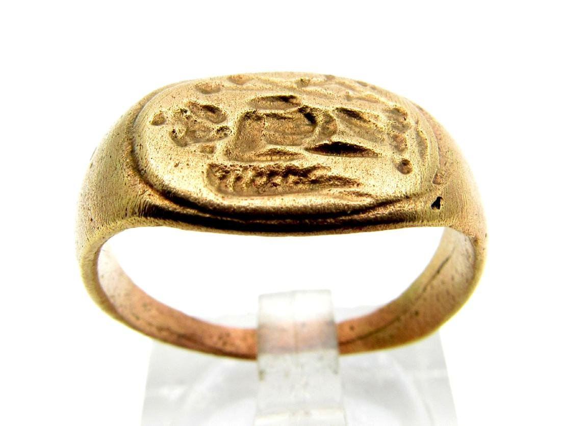 Roman Legionary Ring with Winged Victory