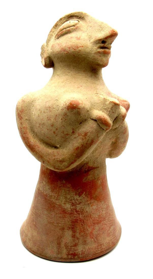 5000 years old Painted Female Fetility Idol  - Indus