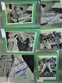 Jane Russell Signed B&W 3 Photos