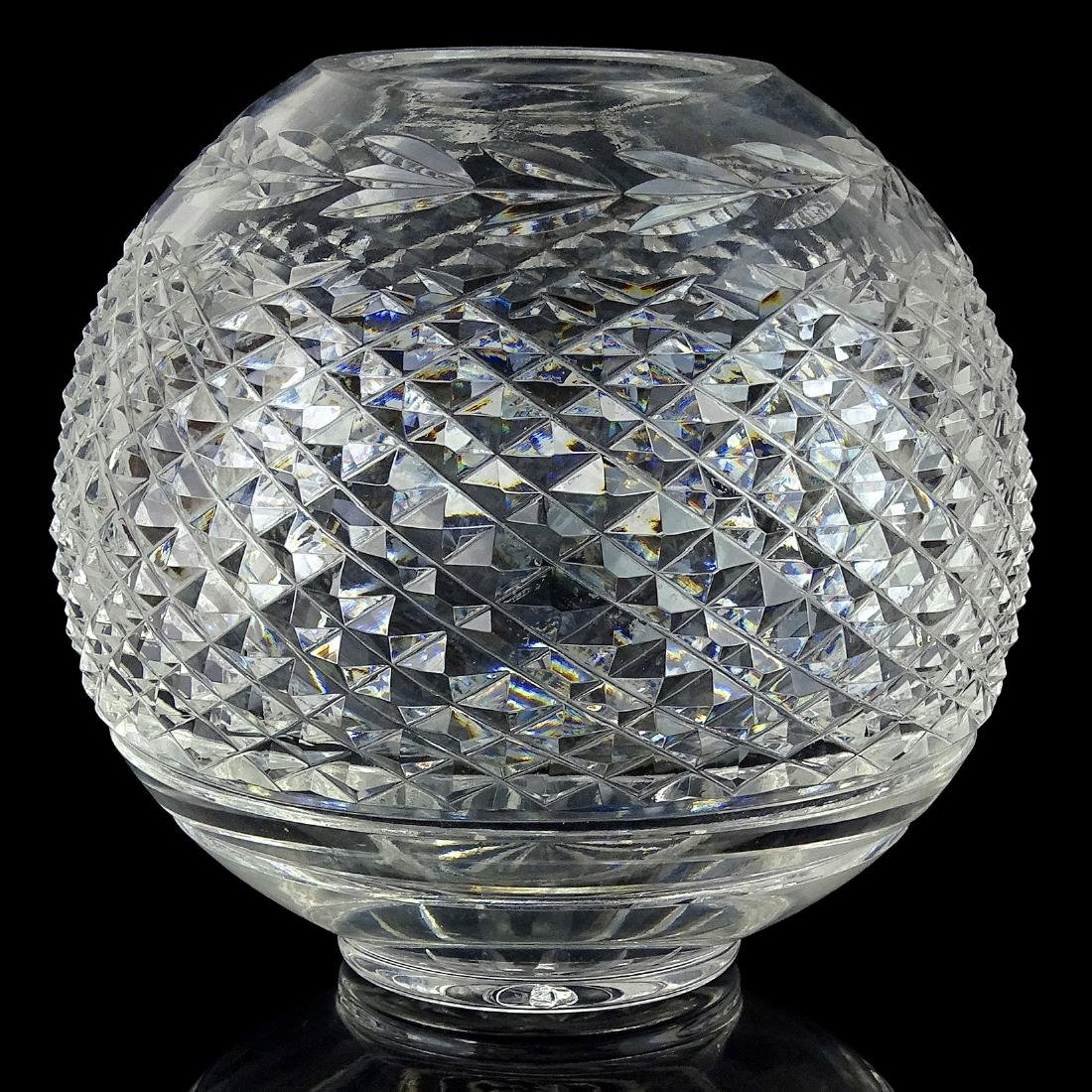 Brilliant Crystal Style Diamond Pattern Flower Vase