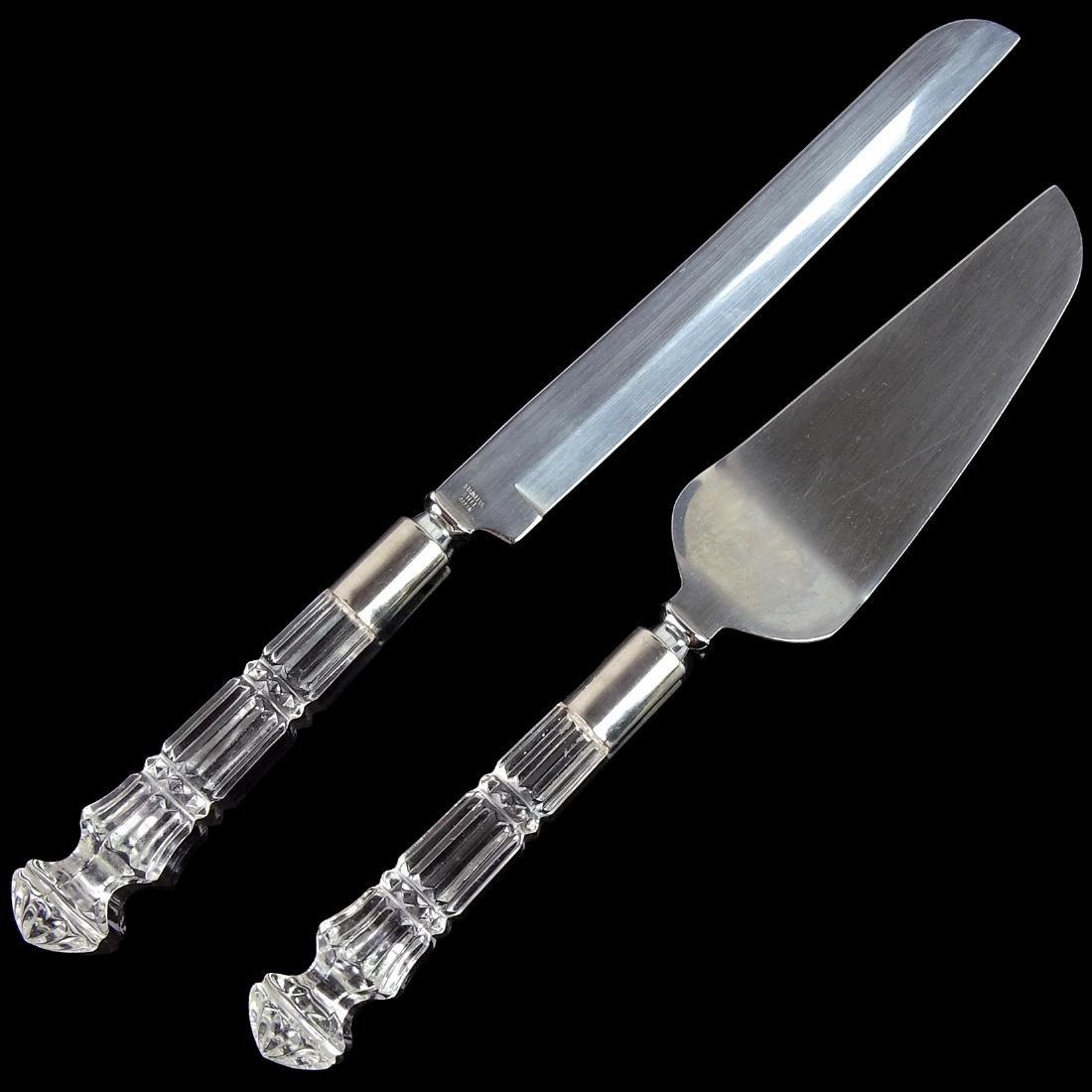 Japan Stainless Steel Knife Cake Server Set