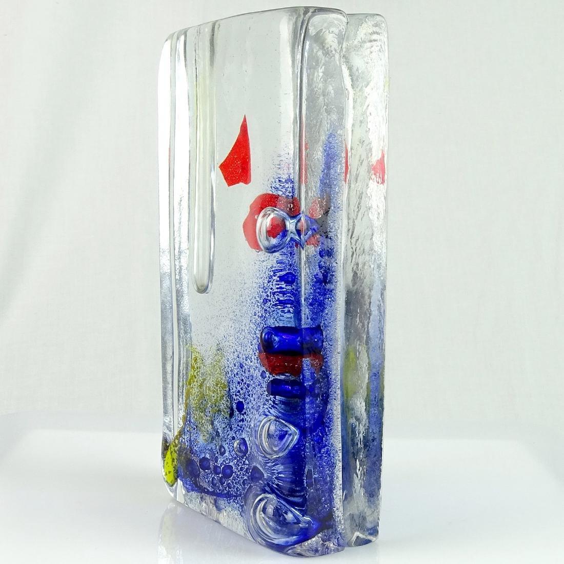 Barbini Murano Art Glass Specimen Flower Vase