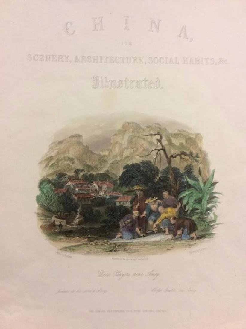 Allen: Antique Title Page, View of China, 1843