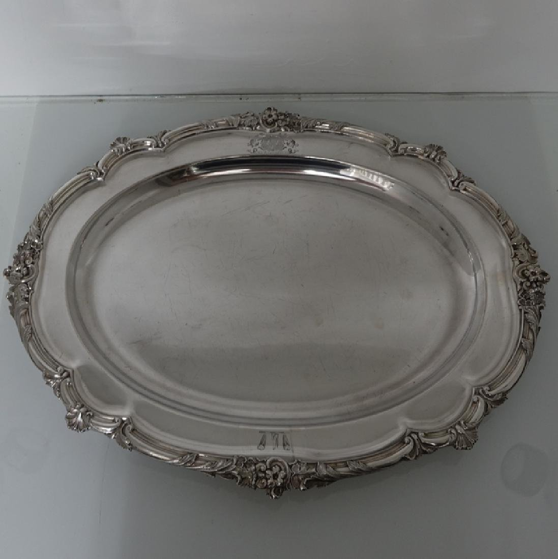 Antique William IV Old Sheffield Silver Soup Tureen - 7