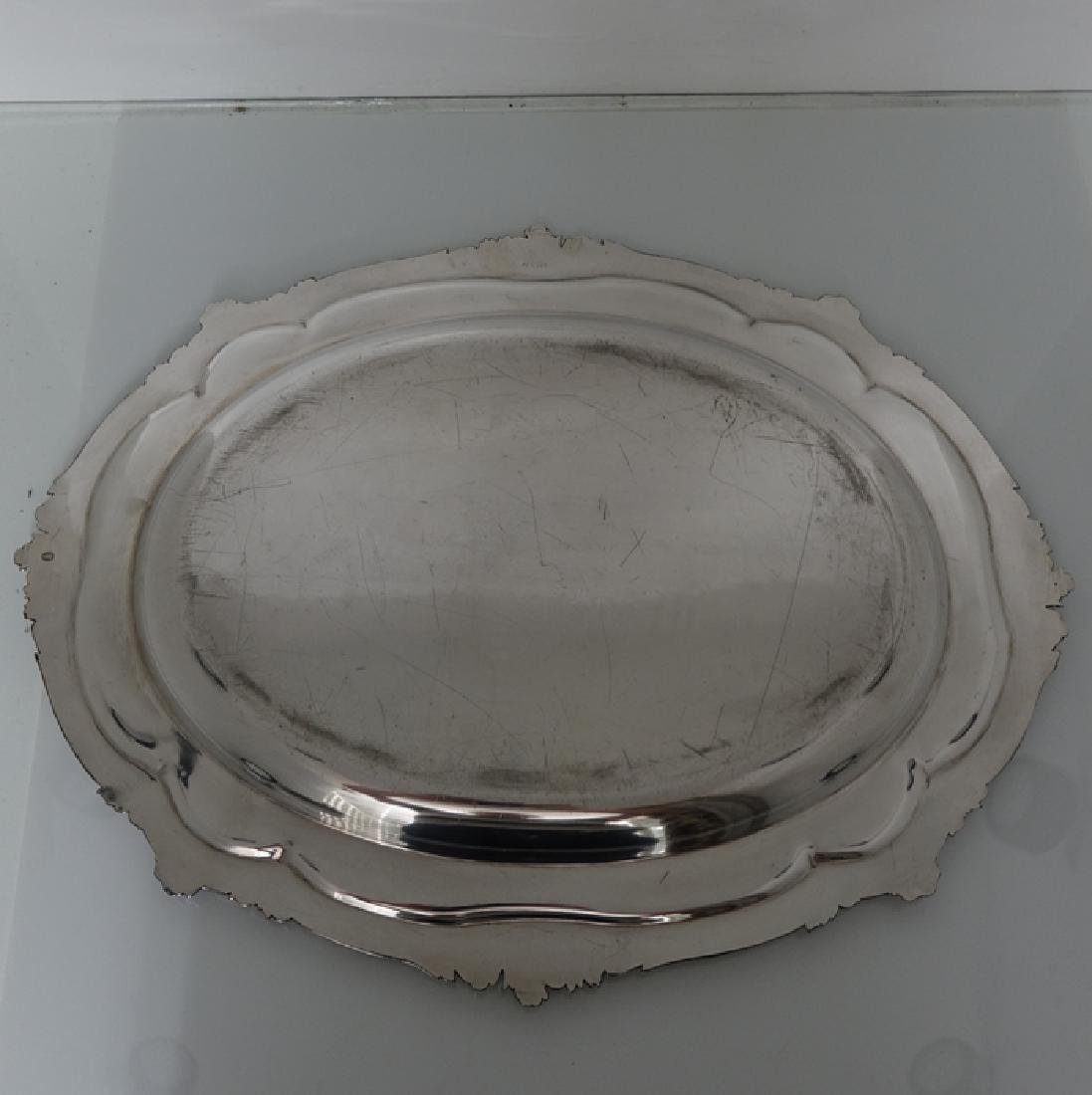 Antique William IV Old Sheffield Silver Soup Tureen - 8