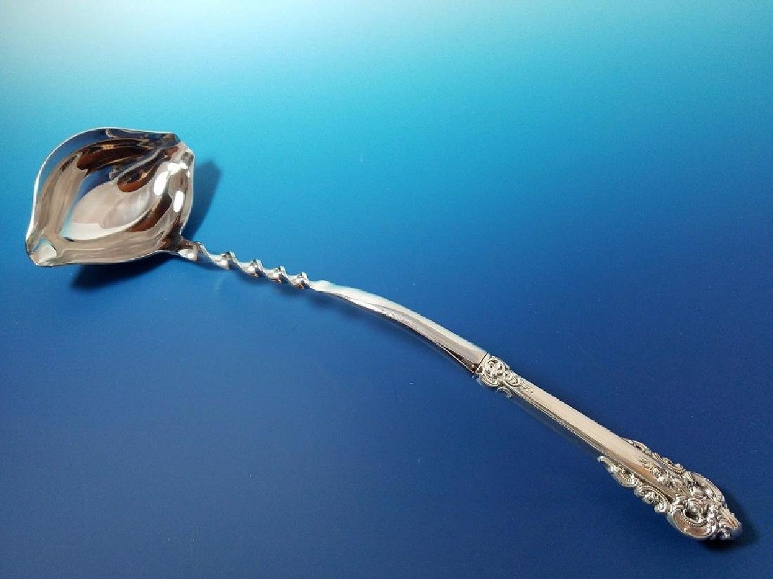Wallace Grande Baroque Sterling Silver Punch Ladle