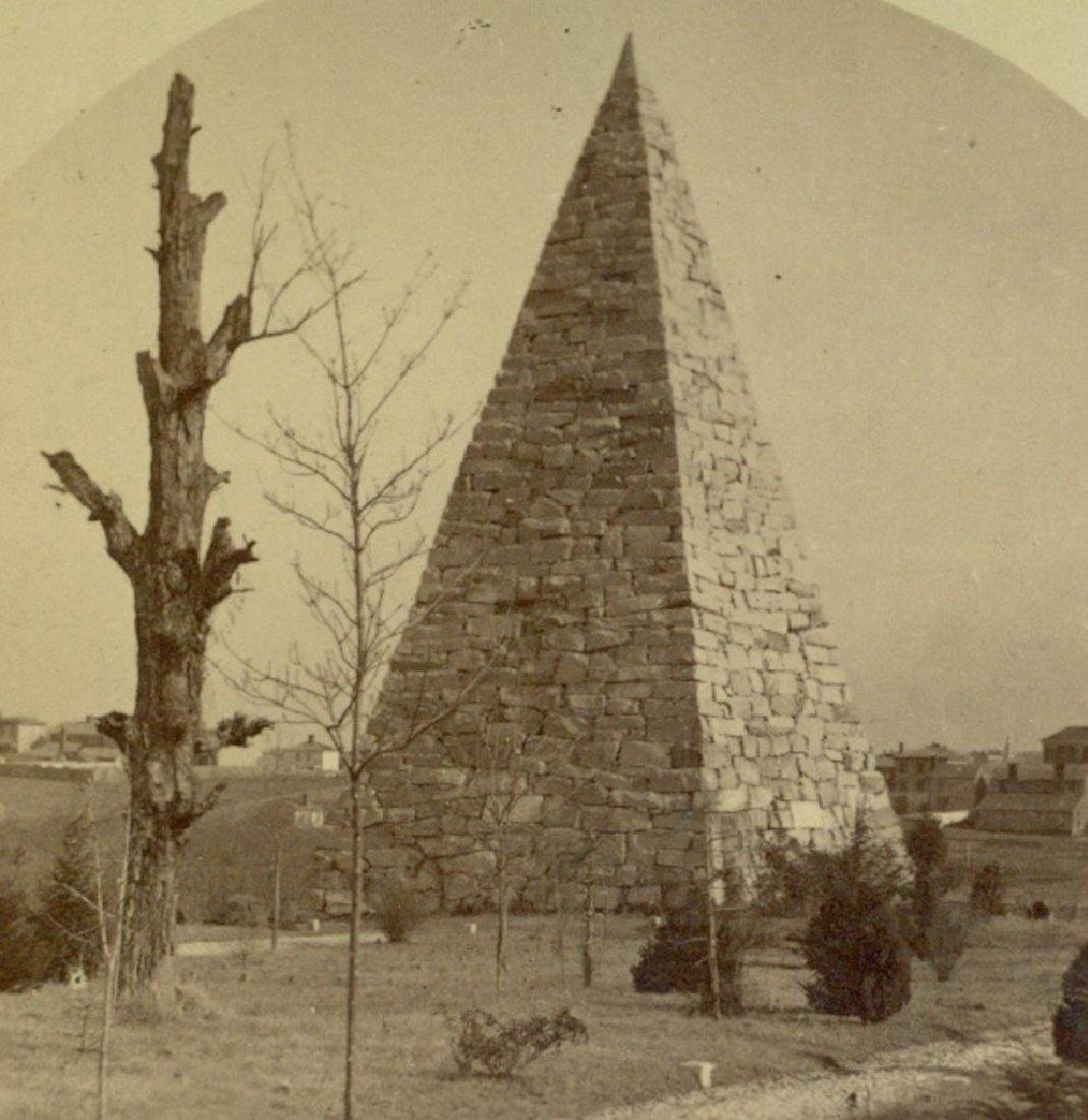 1870 Richmond Virginia Monument Confederate Hollywood