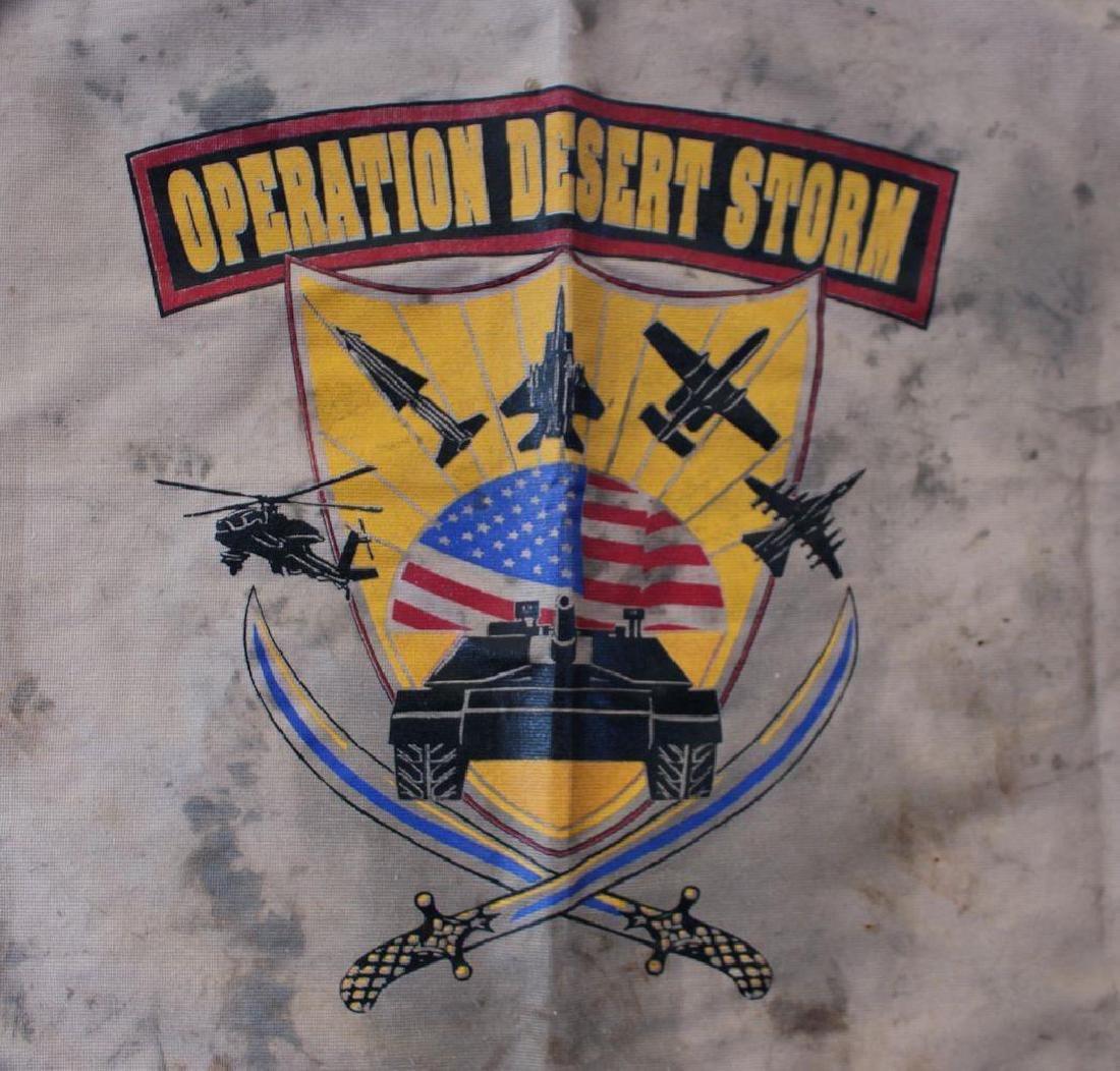 1991 Operation Desert Storm Printed Flag - 2